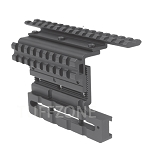 Adjustable AK Double Rail Side Mount