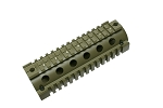 Quad Rail Hand Guard for Carbine Size AR OD Green