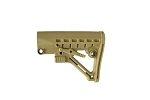 6 Position Collapsible Stock Desert Tan