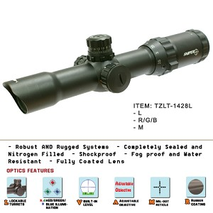 1-4X28 Compact Size Scope