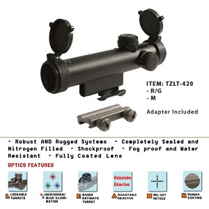 4X20 Compact Size Scope/with illumination