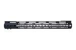 "AR-15 US Made 17"" Hybrid Free Float KeyMod Handguard"