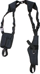 Shoulder Holster Vertical Style Fits M-L Frame Pistol.