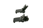 Angled Flip Up Front and Rear Sights Set
